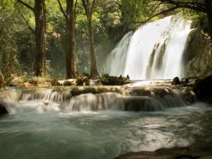 cascata parco Chiapas